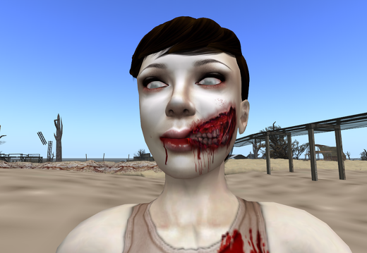 Zombie in The Wastelands